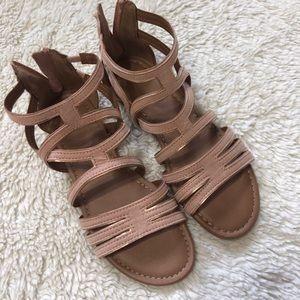 NWOT Light Pink Sandals